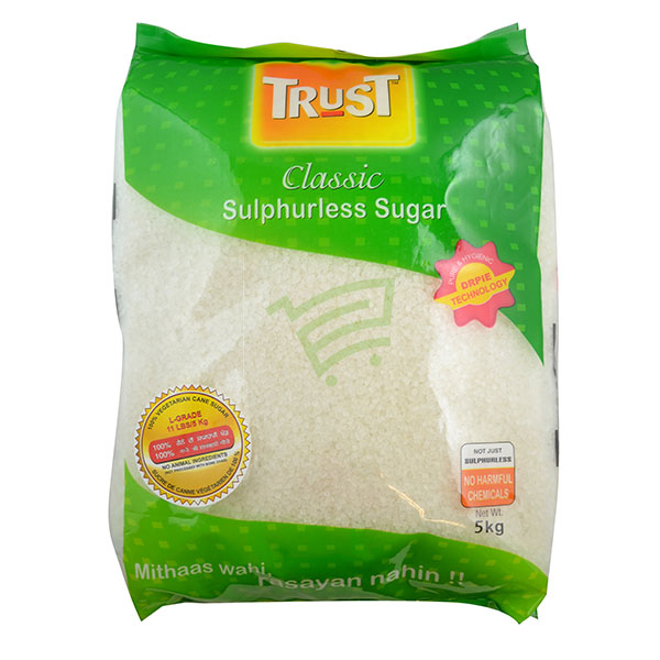 Indian grocery online - Classic Trust Sugar 5Kg - Cartly