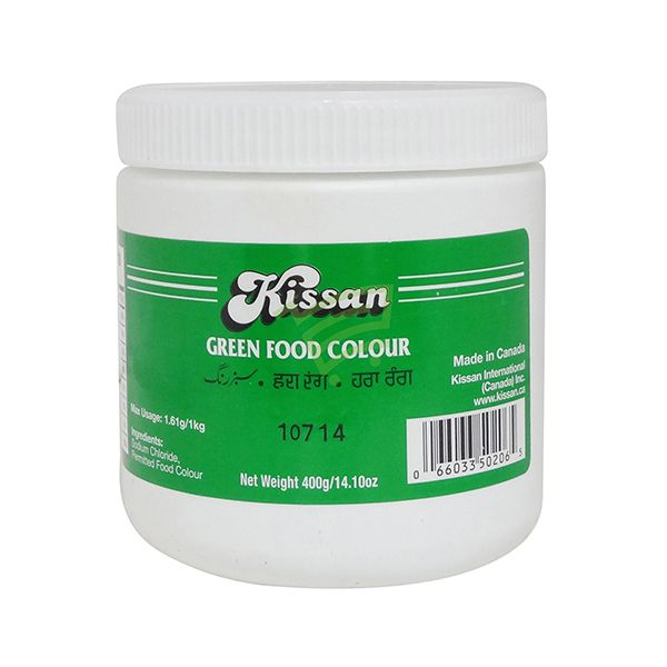 Indian grocery online - Kissan Food Colour Green 400G - Cartly