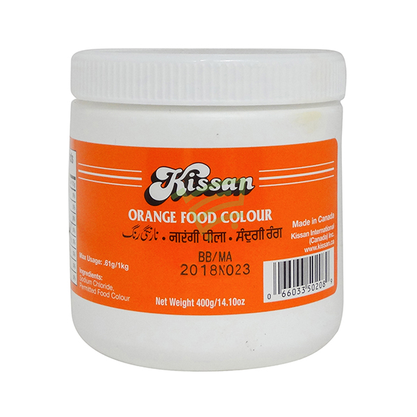 Indian grocery online - Kissan Food Colour Orange 400G - Cartly