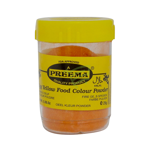Indian grocery online - Preema Eggyellow Food Colour 25G - Cartly