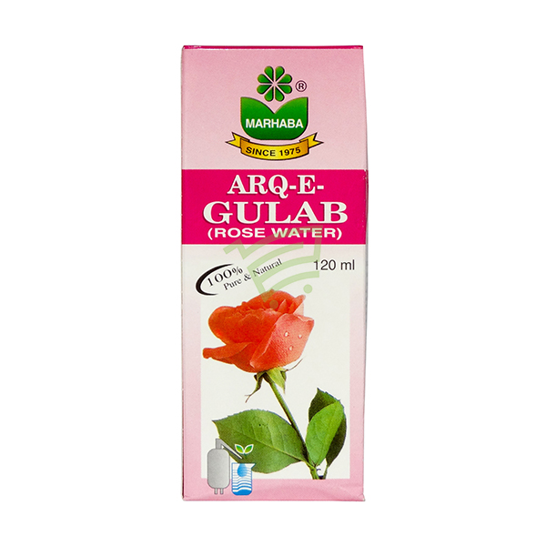 Indian grocery online - Arq-E-Gulab Rose Water 120Ml - Cartly