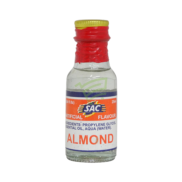 Indian grocery online - SAC Food Essense Almond 25Ml - Cartly
