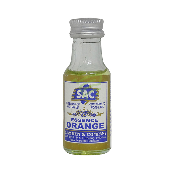 Indian grocery online - SAC Food Essense Orange 25Ml  - Cartly