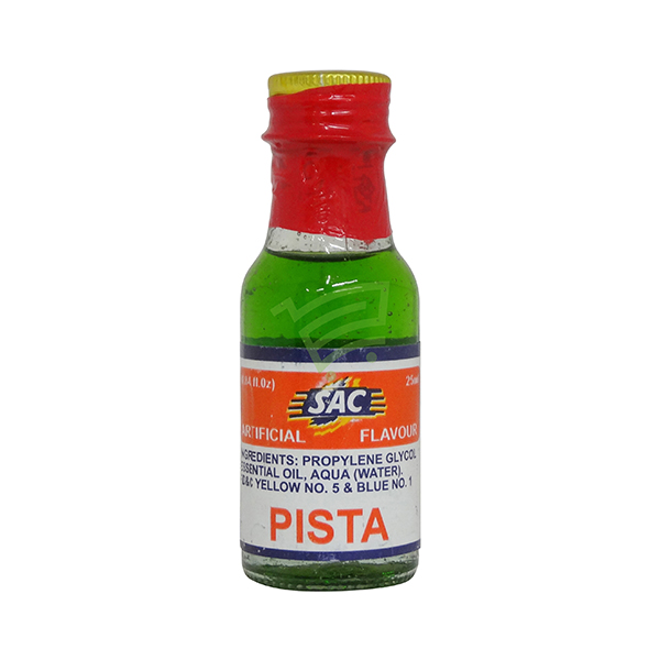 Indian grocery online - SAC Food Essense Pista 25Ml  - Cartly