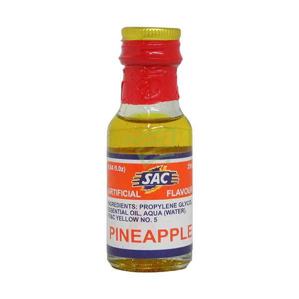 Indian grocery online - SAC Food Essense Pineapple 25Ml  - Cartly