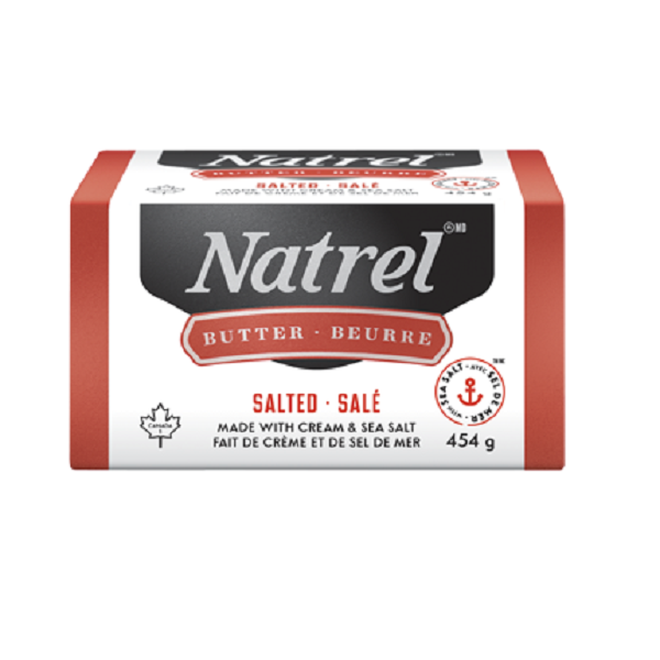 Indian grocery online - Natrel Salted Butter 454G - Cartly