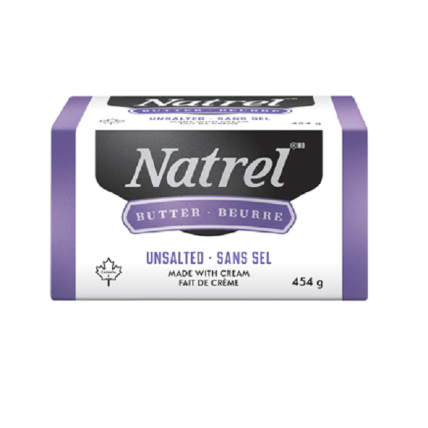 Indian grocery online - Natrel Unsalted Butter 454G - Cartly