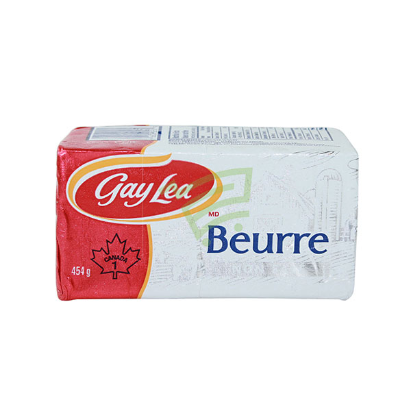 Indian grocery online - Gay Lea Butter Unsalted 454G - Cartly