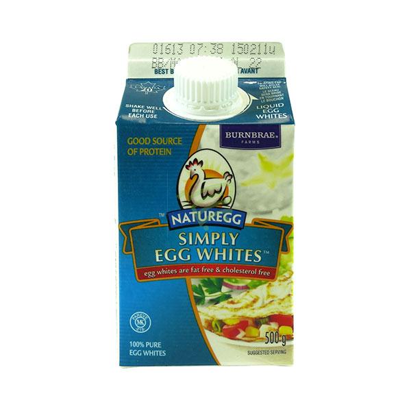 Indian grocery online - Burnbrae Egg Whites 500G - Cartly