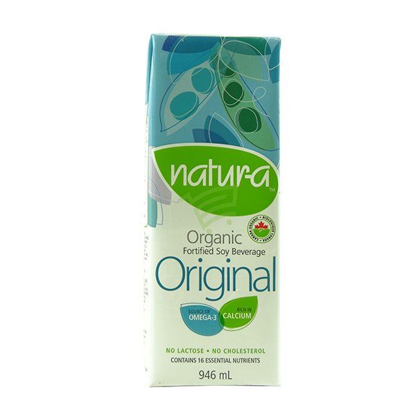 Indian grocery online - Natura Soya Milk Original 946 Ml - Cartly