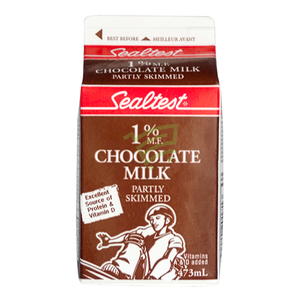 Indian grocery online - Sealtest Chocolate Milk 1% 473Ml - Cartly