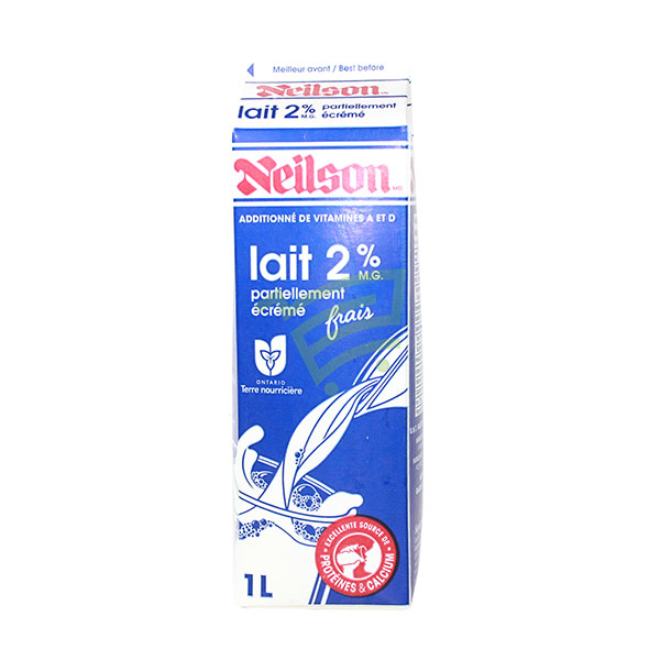 Indian grocery online - Neilson 2% Milk 1L - Cartly