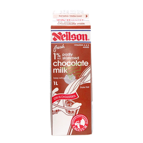 Indian grocery online - Neilson 1% Chocolate Milk 1L - Cartly