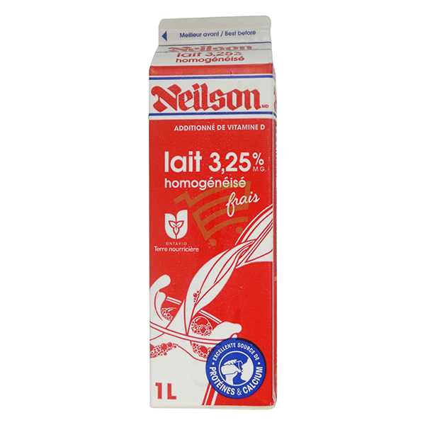 Indian grocery online - Neilson 3.25% Milk Tetra 1L  - Cartly