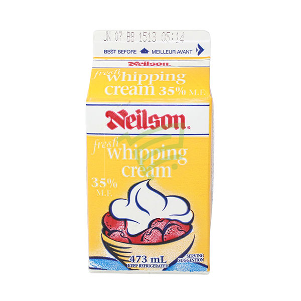 Indian grocery online - Neilson Whipping Cream 35% 473Ml - Cartly