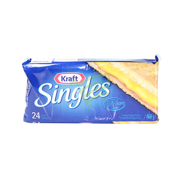 Indian grocery online - Kraft Singles 460G - Cartly