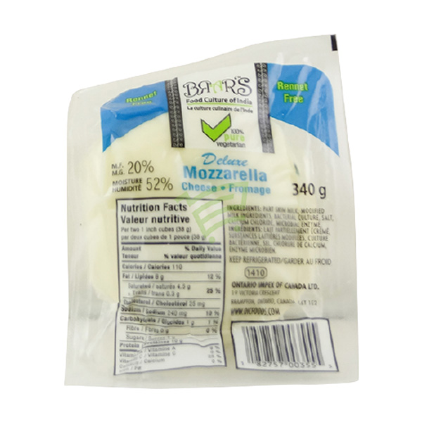 Indian grocery online - Brar 's Mozzarella  Cheese 340g - Cartly