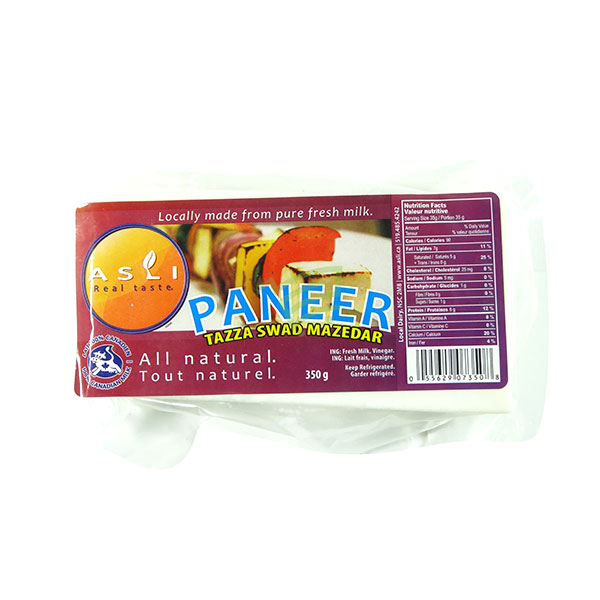 Indian grocery online - Asli Paneer 350G - Cartly