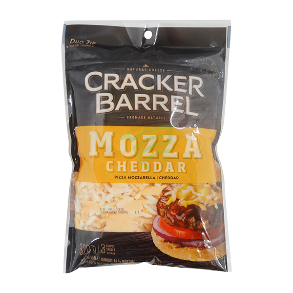 Indian grocery online - Cracker Barrel Mozza Cheddar 320G - Cartly