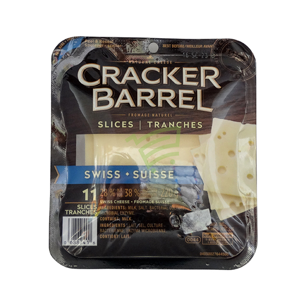Indian grocery online - Cracker Barrel Swiss Slices 11 - Cartly