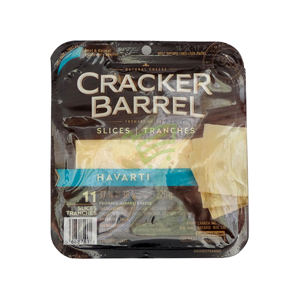 Indian grocery online - Cracker Barrel Havarti Slices 11 - Cartly