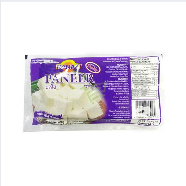 Indian grocery online - Nanak Paneer 400g - Cartly