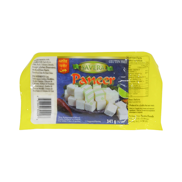 Indian grocery online - Savera Paneer 341G - Cartly