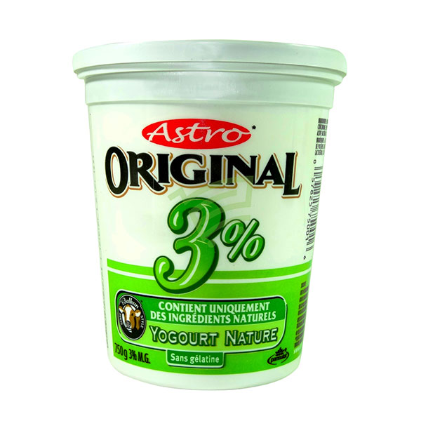 Indian grocery online - Astro Yogourt 3% 750G - Cartly