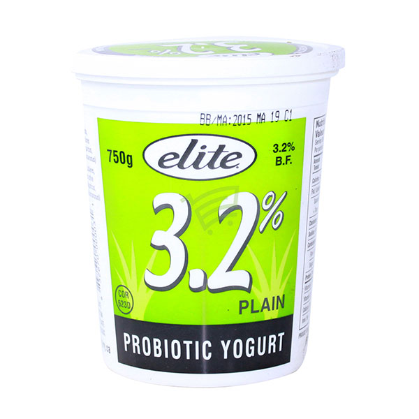 Indian grocery online - Elite Yogurt 3.2% 750G - Cartly
