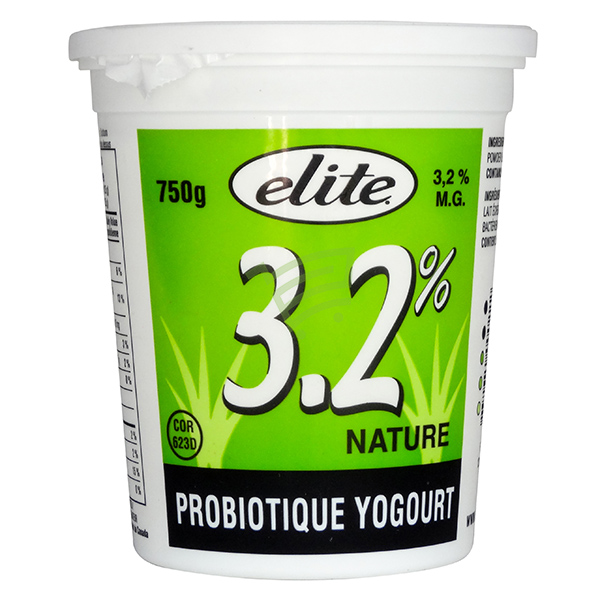 Indian grocery online - Elite 3.25% Plain Yogurt - Cartly