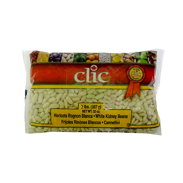 Indian grocery online - Clic White Kidney Beans 2lb - Cartly