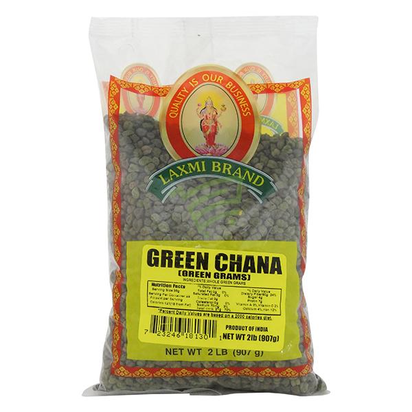 Indian grocery online - Laxmi Green Chana 2lb - Cartly