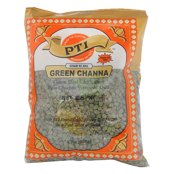 Indian grocery online - PTI Green Channa 2lb - Cartly