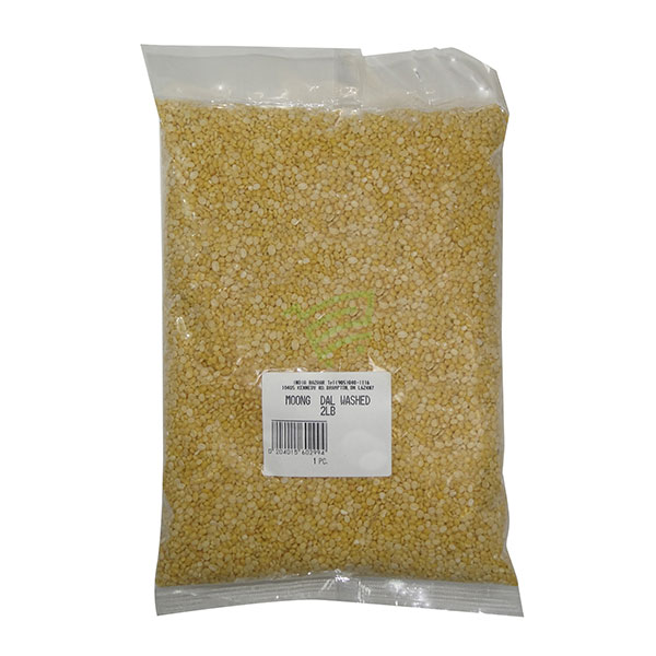 Indian grocery online - Moong Dal Washed 2lb - Cartly