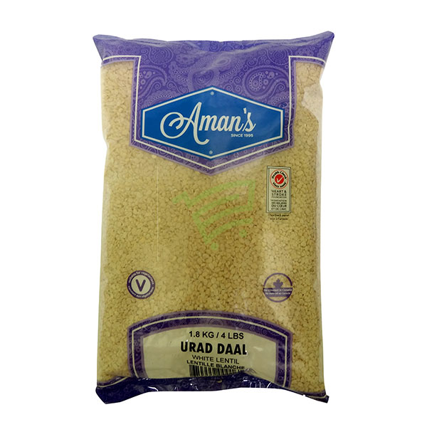 Indian grocery online - Aman's Urad Daal 4lb - Cartly