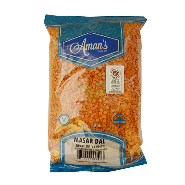 Indian grocery online - Aman's Masar Dal 2lb - Cartly