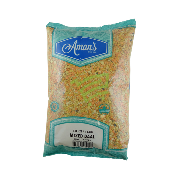 Indian grocery online - Aman's Mixed Dal 4lb - Cartly