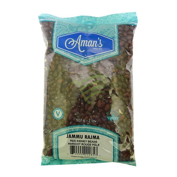 Indian grocery online - Aman's Jammu Rajma 2lb - Cartly