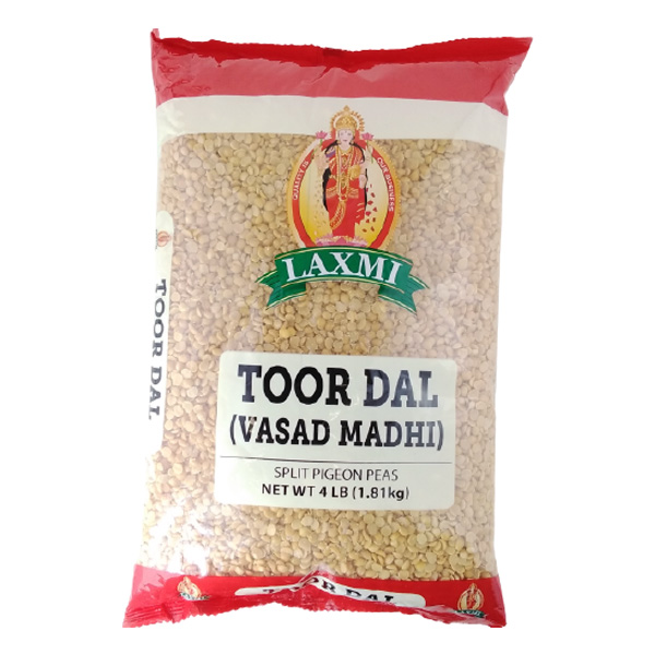 Indian grocery online - Laxmi Toor Dal 4lb - Cartly