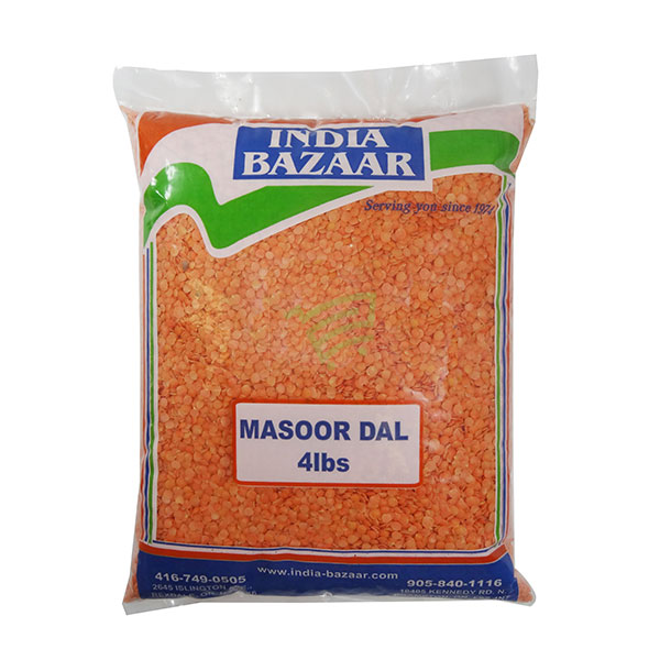 Indian grocery online - Masoor Dal 4lb - Cartly