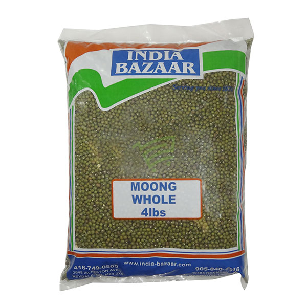 Indian grocery online - Moong Whole 4lb - Cartly