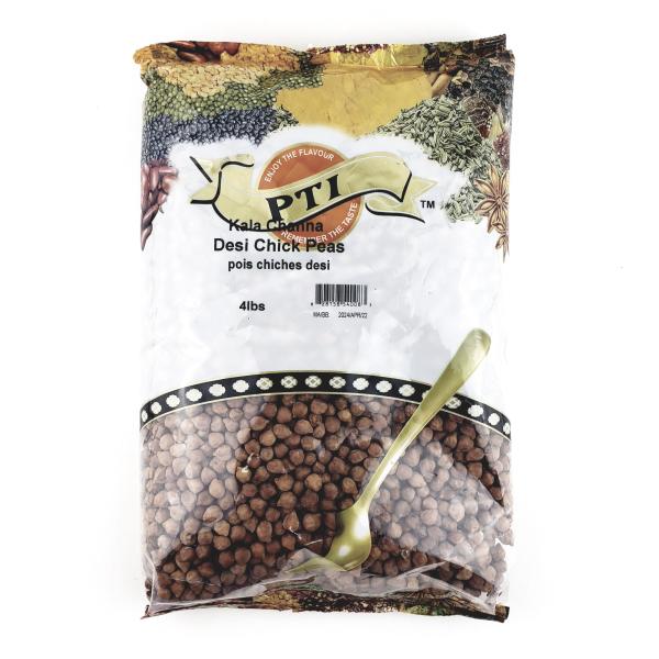 Indian grocery online - PTI Desi Chick Peas (Kala Chana) 4lb - Cartly